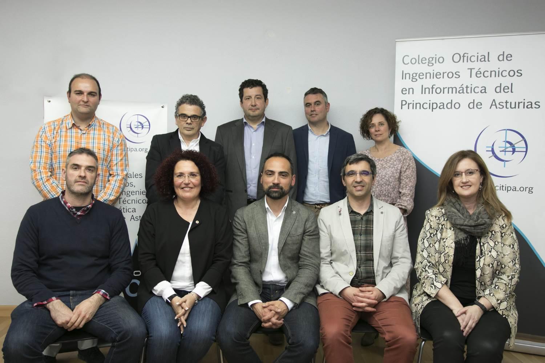 Nueva Junta de Gobierno del CITIPA desde el 2019