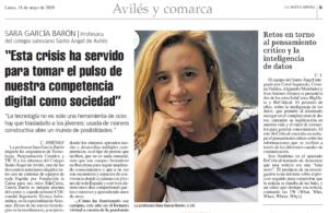 LNE-Entrevista-Sara-Isabel-Garcia-Baron-Vicedecana-CITIPA